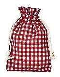 10 bolsitas de algodón, bolsas de algodón estilo rústico, tamaño 30 x 20 cm, elemento...