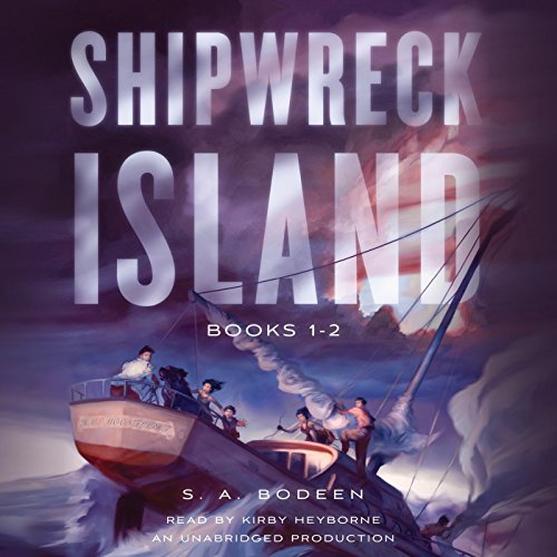 Shipwreck Island, Books 1-2 audiobook cover art