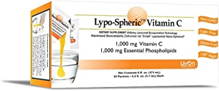 Lypo-Spheric Vitamin C - 30 Packets 1,000 mg Vitamin C Per Packet