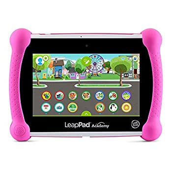 LeapFrog LeapPad Academy Kids' Learning Tablet Pink