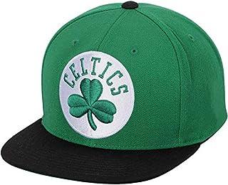 Boston Celtics Mitchell & Ness XL Logo Snapback Hat Green