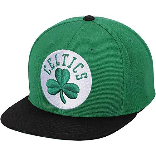 Mitchell & Ness Boston Celtics XL Logo Snapback Hat Green