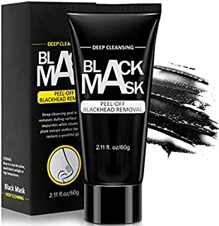 Blackhead Remover Mask, Charcoal Peel Off Mask, Deep Cleansing Black Mask, Activated For All Skin