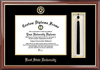 Campus Images OH989PMHGT Kent State University Tassel Box and Diploma Frame, 7