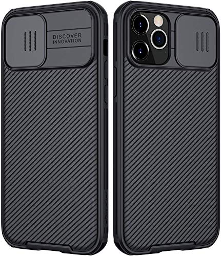 Nillkin iPhone 12 Pro Max Case, with Slide Camera Cover Compatible Slim...