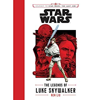 Journey to Star Wars: The Last Jedi: The Legends of Luke Skywalker audiobook cover art