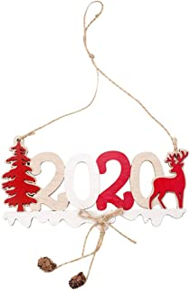 Succper Christmas Decorations New 2020 Letters Hemp Rope Wooden Pendant, Creative Christmas Tree Decoration Wooden Letters, Pendants, Decoration, Christmas Tree Decorations