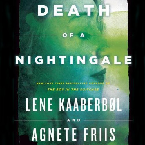 Death of a Nightingale audiobook cover art