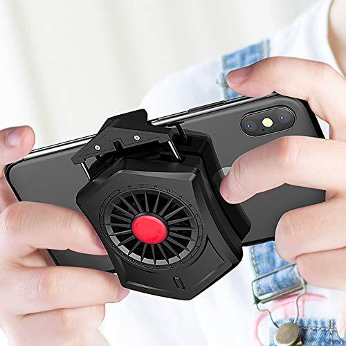 Ventilador De Enfriamiento De Teléfono Móvil De Bajo Ruido De 4500 RPM Mini Titular De Radiador De Teléfono Ajustable Portátil...