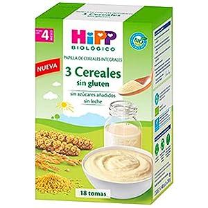 HIPP Cereales SIN Gluten 400GR, Negro, Estándar