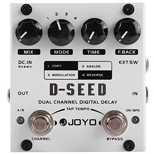 JOYO D-SEED Multi-Delay and Looper Effect for Electric Guitar Effect