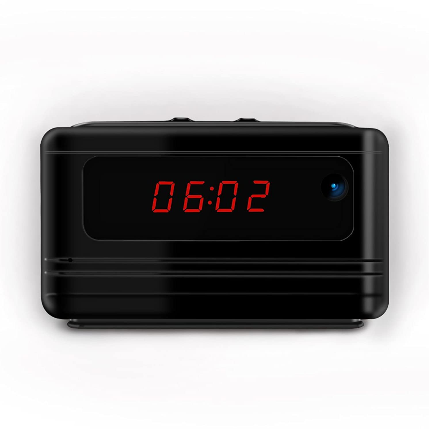 Mini Spy Hidden Camera Clock, Loop Video Recorder Security Camera Supports Motion Detection, Nanny Cam