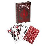 Bicycle- Baraja de Poker Premium, Color Rojo (U.S. Playing Card Company 1041366)