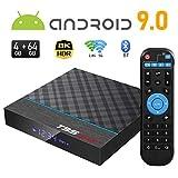 Android TV Box, Sidiwen T95MAX+ Android 9.0 TV box 4GB RAM 64GB ROM