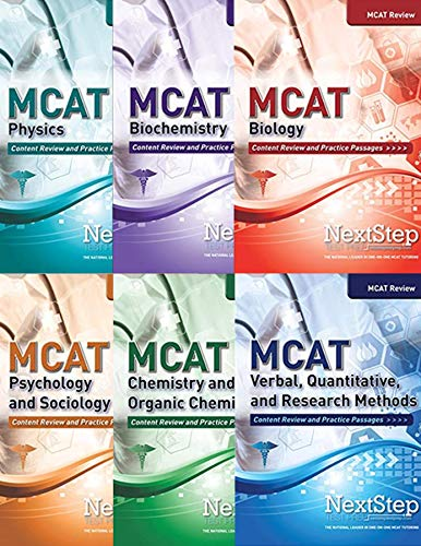 MCAT Complete Review 6-Book Series