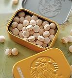 スターバックス Starbucks 缶入りタブレット アフターコーヒーミント(マンゴー&パッションフルーツ)