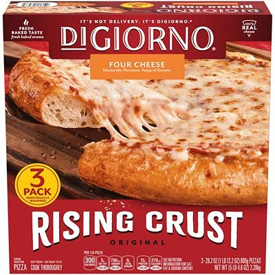 DiGiorno Original Rising Crust Four Cheese Frozen Pizza