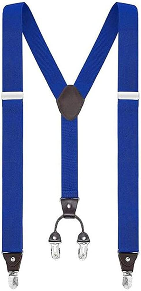 3.5Cm Y-Shape 4 Clips Suspender Mens Suspensorio Masculino For Man Or Woman