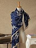 LHP Europea - Estilo elásticos y Caliente Nacional de Viajes de la Bufanda del mantón de Las Mujeres del otoño 's (Mismo tamaño Que 6 Colores) Gama Alta (Color : F)