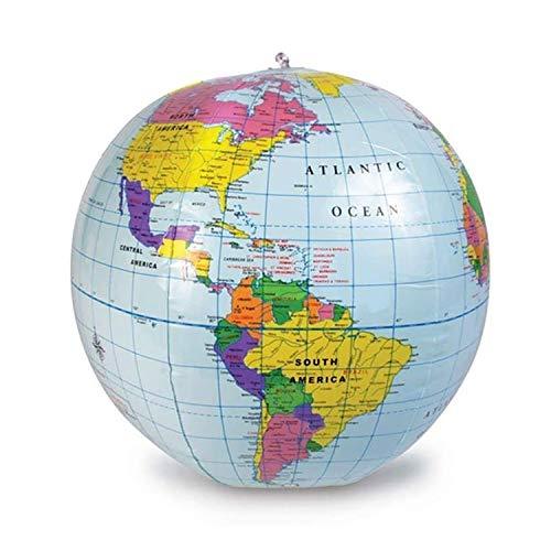 ラーニングリソーシズ 地球儀 ビーチボール型 子どもの世界がふくらむ地球儀 直径30cm LER2432 正規品