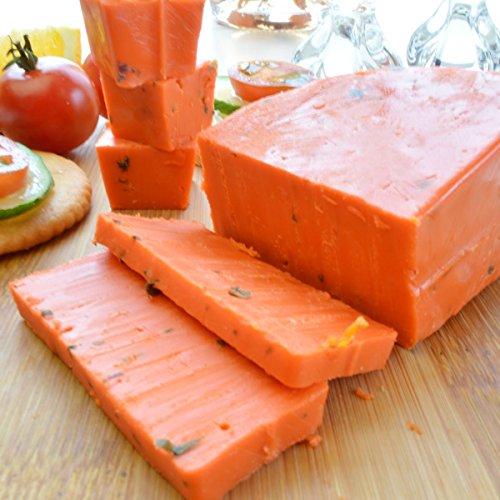 バジロン ロッソカット 約360g前後 オランダ産ゴーダチーズ ナチュラルチーズ クール便発送 ピザ風味 おつまみ おやつ Basiron Rosso Gouda Cheese