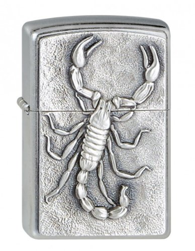 Zippo Briquet #207 Scorpion Emblem