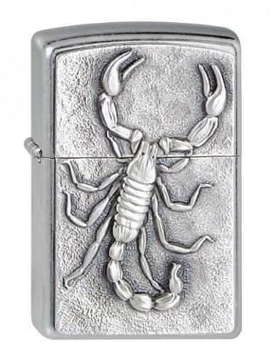 zippo scorpione emblema 85z185