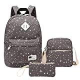 Best Backpacks For Middle Schoolers - School Backpack, Aiduy Lightweight Canvas Backpack Travel Laptop Review