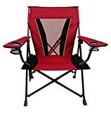 Kijaro XXL Dual Lock Portable Camping and Sports Chair, Red Rock Canyon