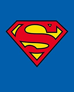Pyramid International Superman Classic Logo DC Comics Superhero Cool Wall Decor Art Print Poster 20x16
