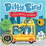 DITTY BIRD Baby Sound Book: Our Children's Songs Musical Book is The Perfect Toys for 1 Year Old boy and 1 Year Old Girl Gifts. Educational Music Toys for Toddlers 1-3. Award-Winning!
