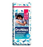 Huggies Drynites® Pyjama Bettnässen Hosen Jungen 8-15 Jahre - 9 Hosen