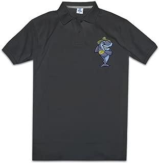 MZONE Men's Shark Tank Fashion Polo Tee