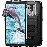 Blackview BV6800 Pro Outdoor Smartphone con 6580mAh, FHD+ 5,7 Pollici 18: 9, 4GB e 64GB, IP68 IP69K Impermeabile Smartphone Standard Militare, Doppia Fotocamera 16MP e 13MP, 4G, Android 8.0, Nero