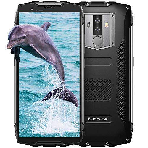 Blackview BV6800 Pro Móvil Antigolpes, 6580 mAh Batería, RAM de 4GB+ ROM de...