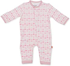 Magnificent Baby Magnetic Me Dancing Elephants Modal Coverall