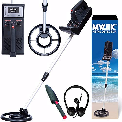MYLEK MYMD1061 Lightweight Detector Kit - Detects All Gold,...