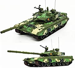 China T-99 Parade Deco Number Random 1/72 DIECAST Model Finished Tank