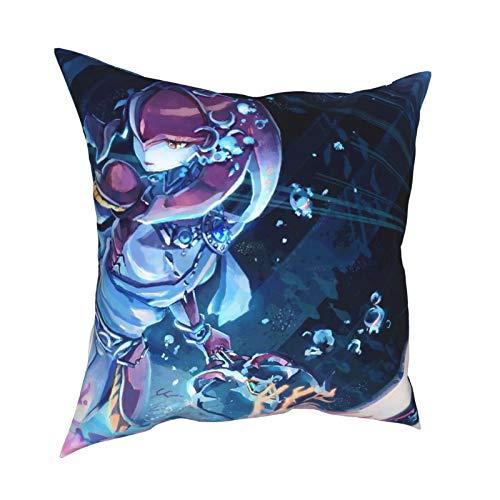 The Leg-En-D Of Z-Elda M-Ipha - Funda de almohada para sofá, sofá, decoración del hogar, 45,7 x 45,7 cm