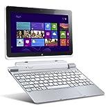 Acer Iconia W510-27602G03iss 25,7 cm (10,1 Zoll) Convertible Tablet-PC inkl. Keydock (Intel Atom Z2760, 1,8GHz, 2GB RAM, 32GB SSD, Intel 3650, Win 8) silber