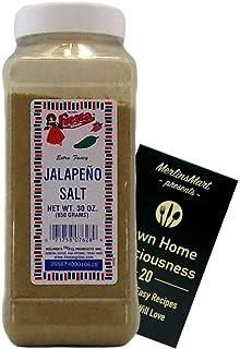 Bolner's Fiesta Extra Fancy Jalapeno Salt Plus Recipe Booklet Bundle (30 Ounces)