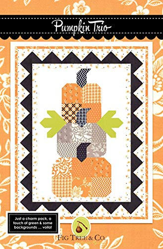 Pumpkin Trio Quilt Pattern by Fig Tree & Co