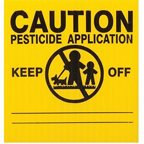 25x GEMPLER'S MA5X5PK Massachusetts Pesticide Application Signs –...