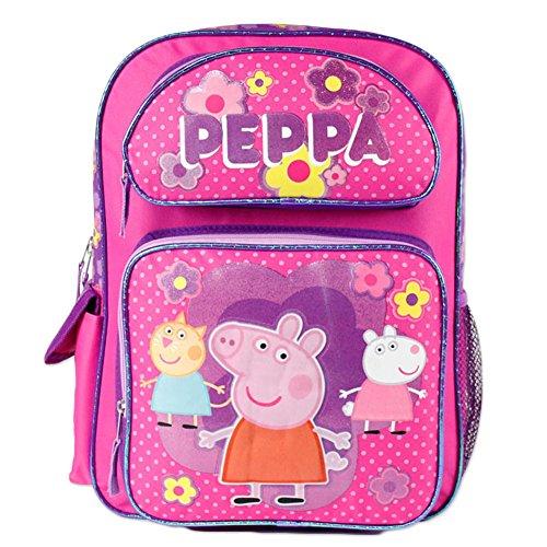 Peppa Pig Large 16' School Backpack(pink)