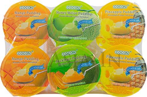 Cocon - Kokosnussgelee mit Früchten - 6x 118g