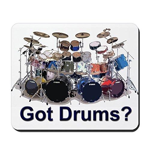 CafePress–Got Drums–rutschfeste Gummi Mauspad, Gaming Maus Pad