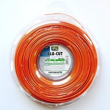 Greenstar 3843 Bobine fil nylon carr/é 2 mm x 130 m