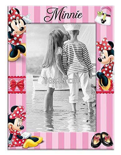 Minnie Mouse Disney Bilderrahmen 10 x 15 Rosa-Pink Hochformat