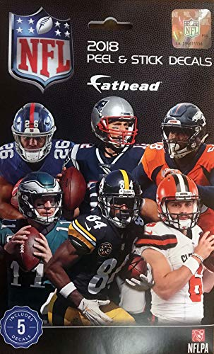 FATHEAD NFL 2018 Tradeables Pack Decal.