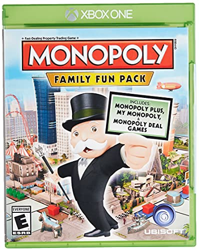 Monopoly Family Fun Pack - Xbox One Standard Edition